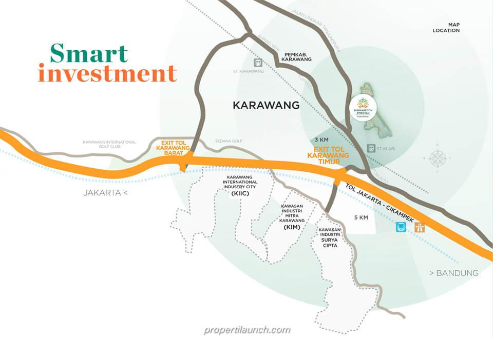 Smart Investment @ Summeracon Emerald Karawang