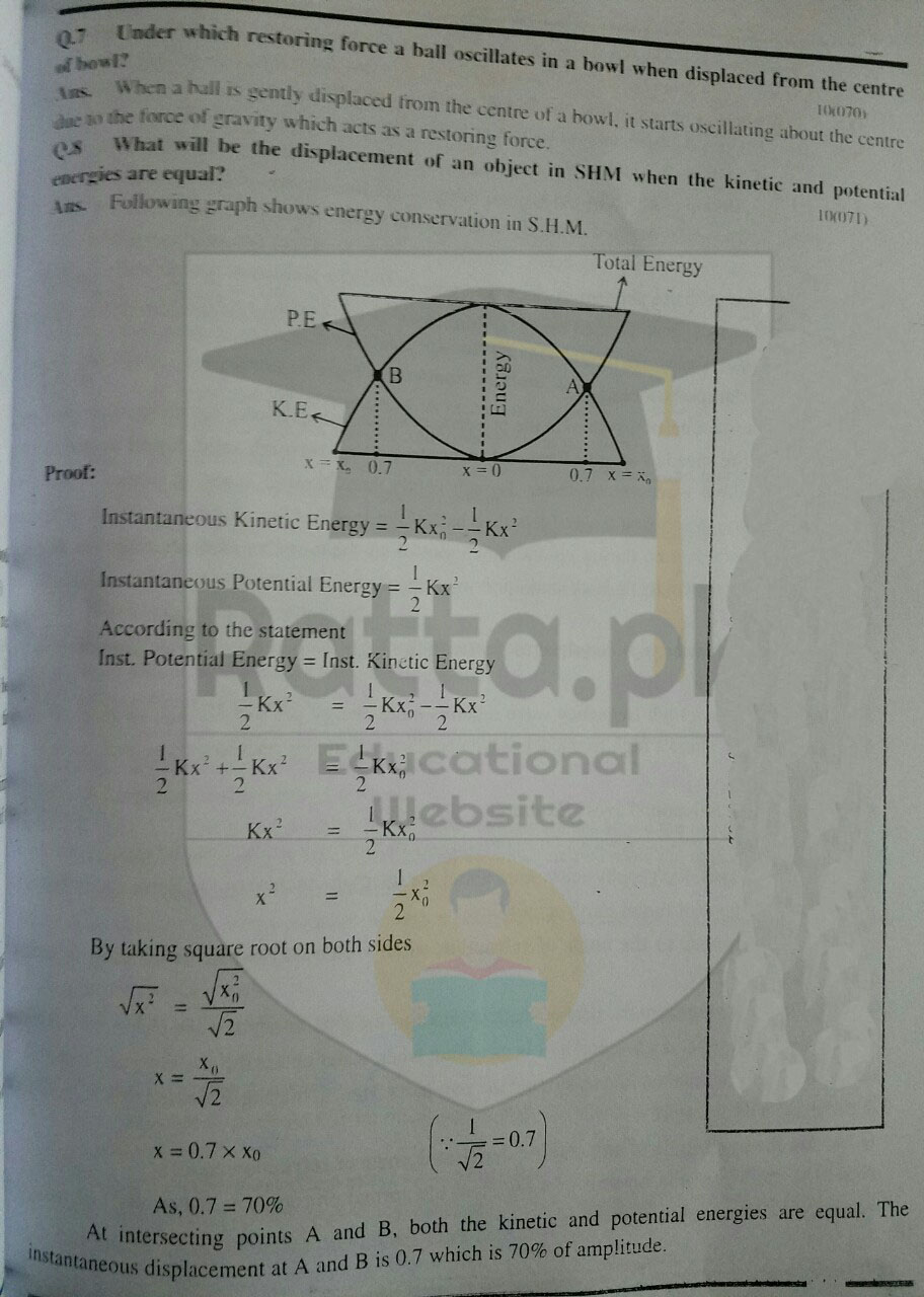 Matric 10th class Physics Chapter 10 Short Questions 1
