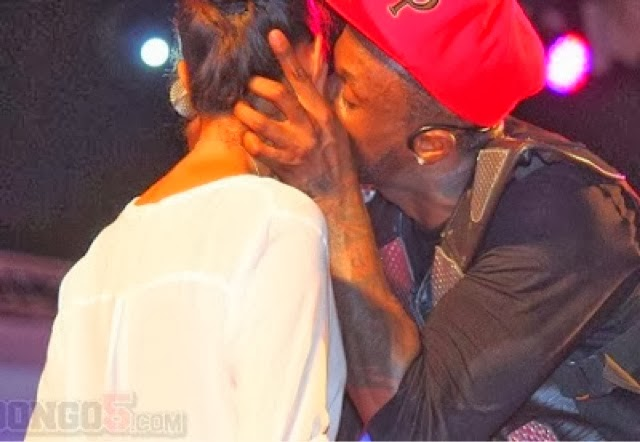 Peter Okoye Caught On Camera Kissing A Female Fan In Tanzania [SEEPHOTOS]