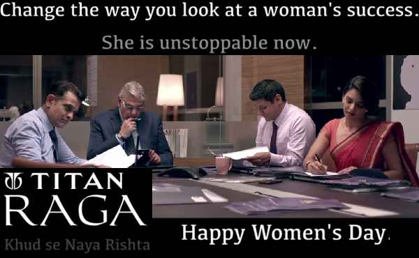 Titan.co.in Raga Women's Day 2016 Special Video  gender bias, female discrimination