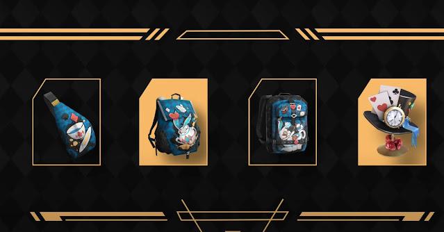 skin tas dan item lain