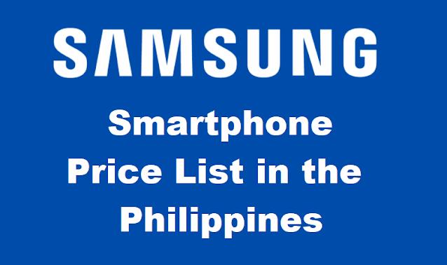 Samsung Smartphone Price List