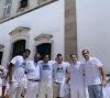 Prefeito Hunaldo Simões comemora aniversário na Lavagem do Bonfim