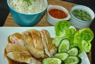 Resepi Nasi Ayam Hainan Simple