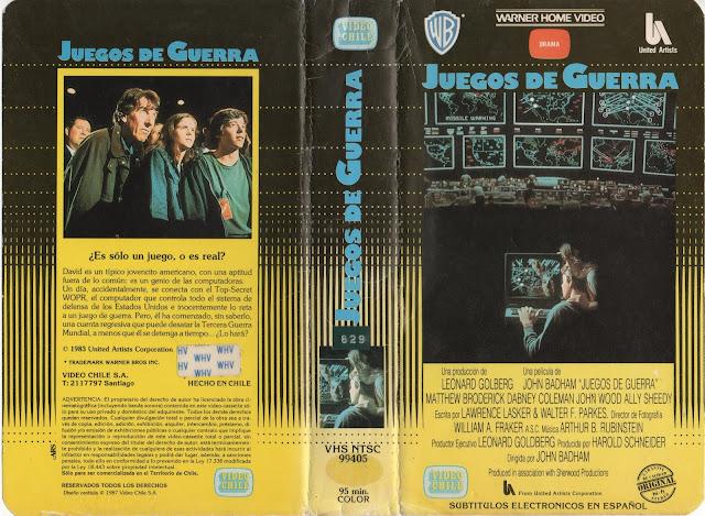 """Pelicula: """"Juegos de Guerra"""" (1983)"""