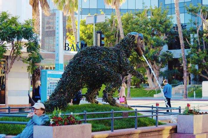 Aimerose Santa Monica 3rd street promenade