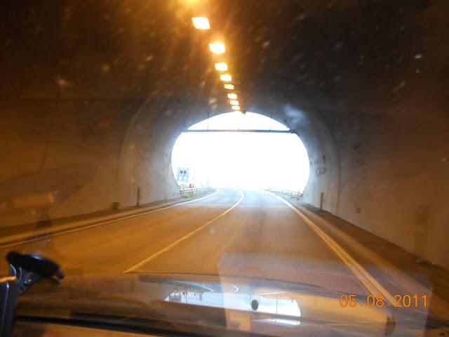 Longest tunnel under the sea
