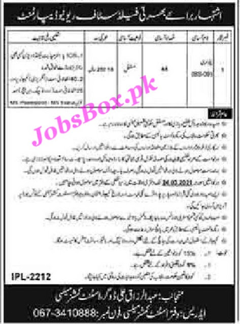 revenue-department-mailsi-patwari-jobs-2021-advertisement