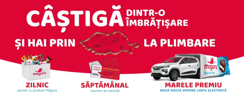 Concurs Magura 2021 - Castiga dintr-o imbratisare si hai prin tara la plimbare - concursuri - online - masina - dacia spring