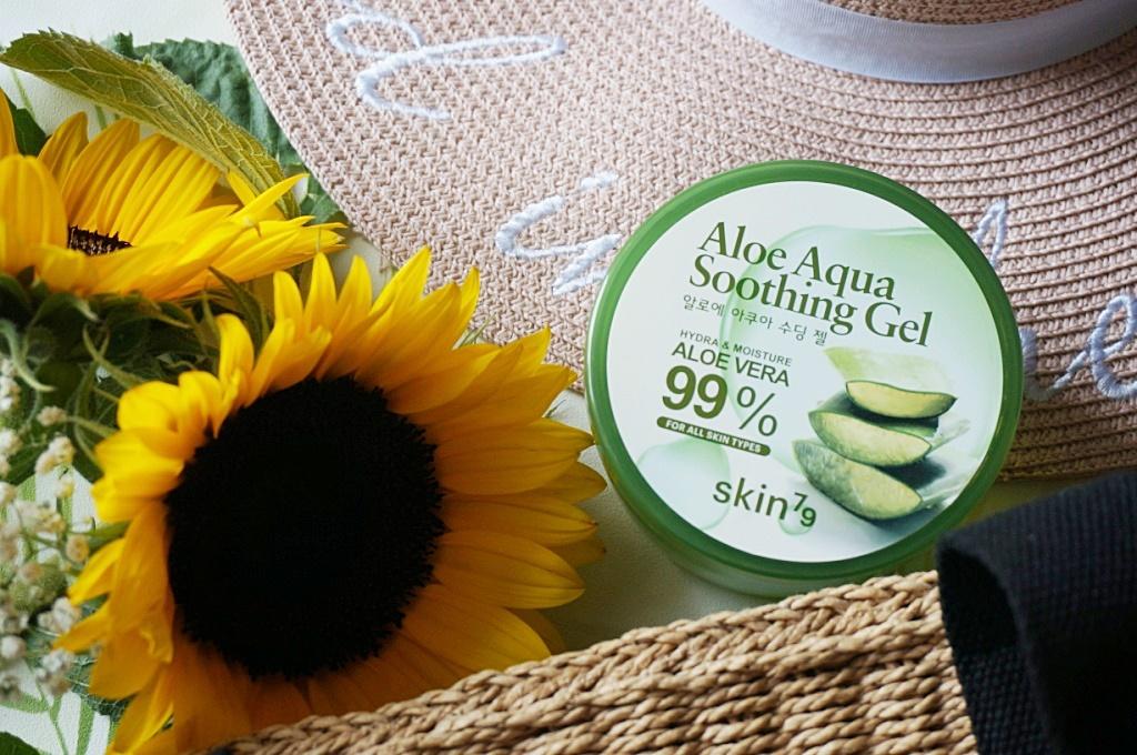 Skin79 Aloe Aqua Soothing Gel koreański kosmetyk drogeria Hebe