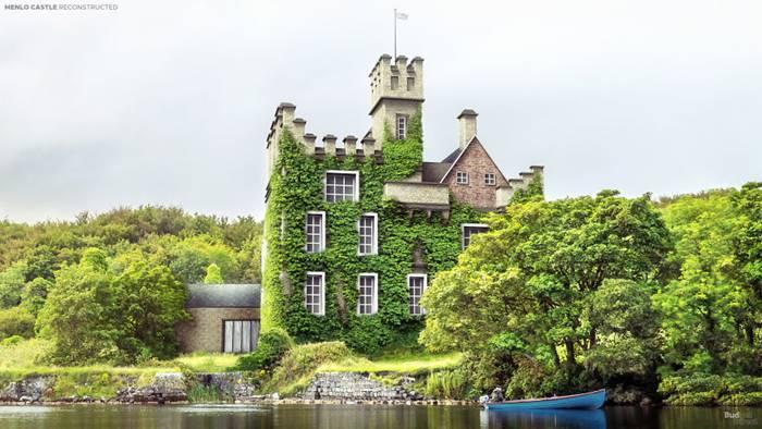 Menlow Castle (Galway, Ireland).