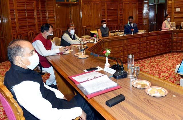 जयराम कैबिनेट: प्रदेश में इन पदों पर होगी भर्ती और भी हैं कुछ जरूरी फैसले