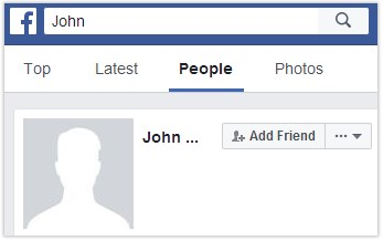 How to find someone on Facebook just knowing their first name