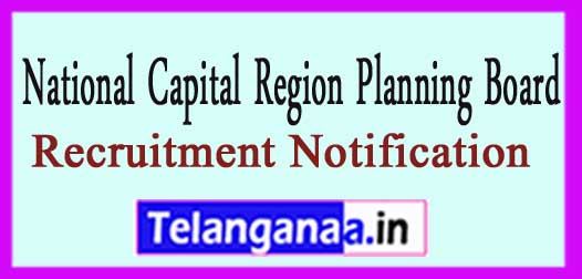 NCRPB National Capital Region Planning Board Recruitment Notification