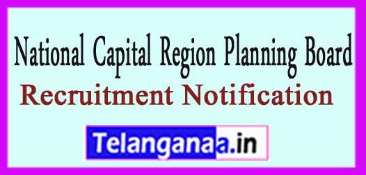 NCRPB National Capital Region Planning Board Recruitment Notification