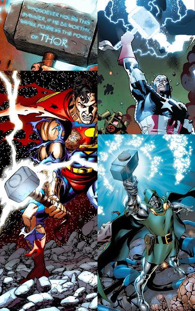Thor 30 eroi che hanno usato il suo martello