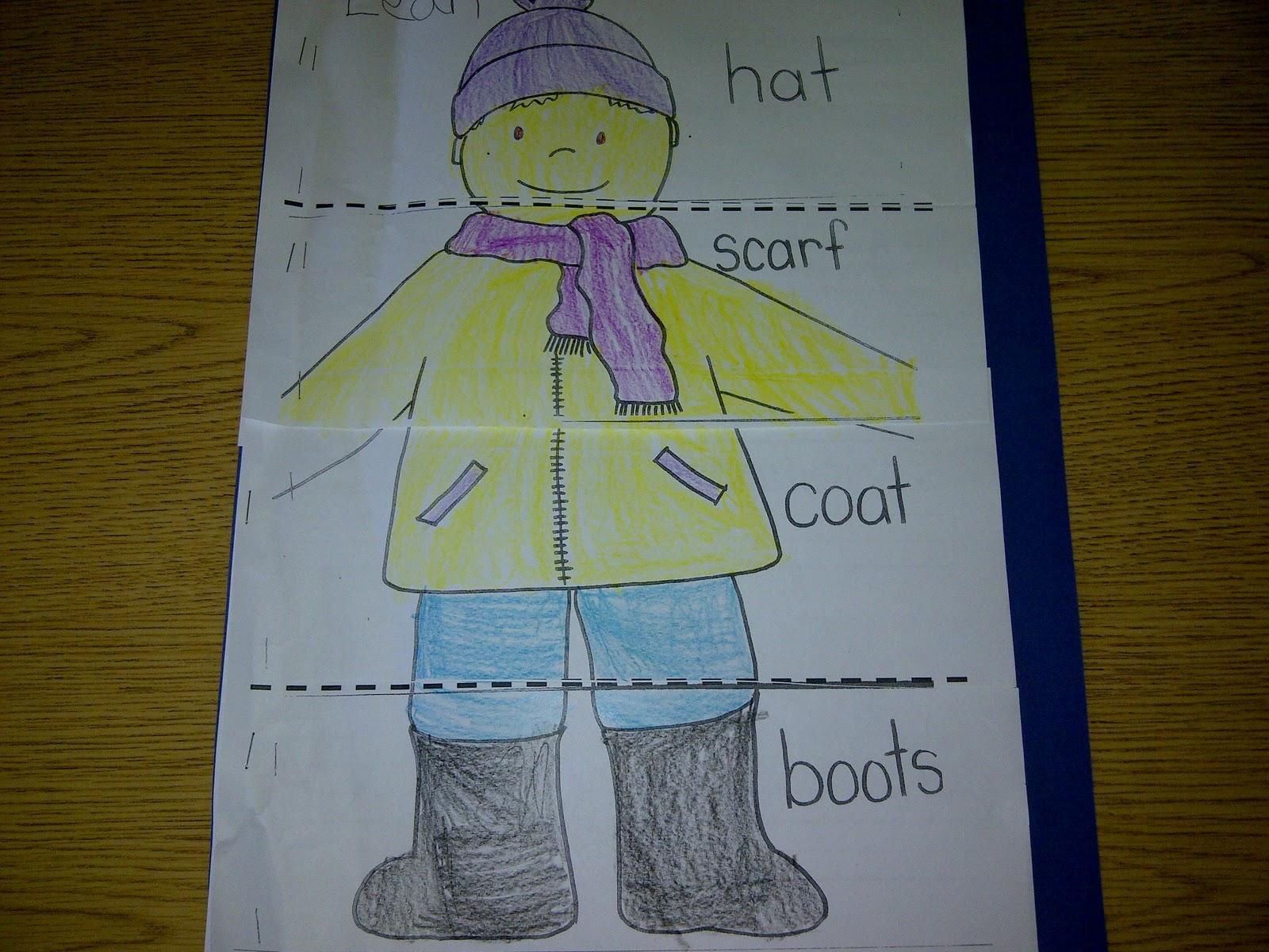 Jacket I Wear Snow Printables