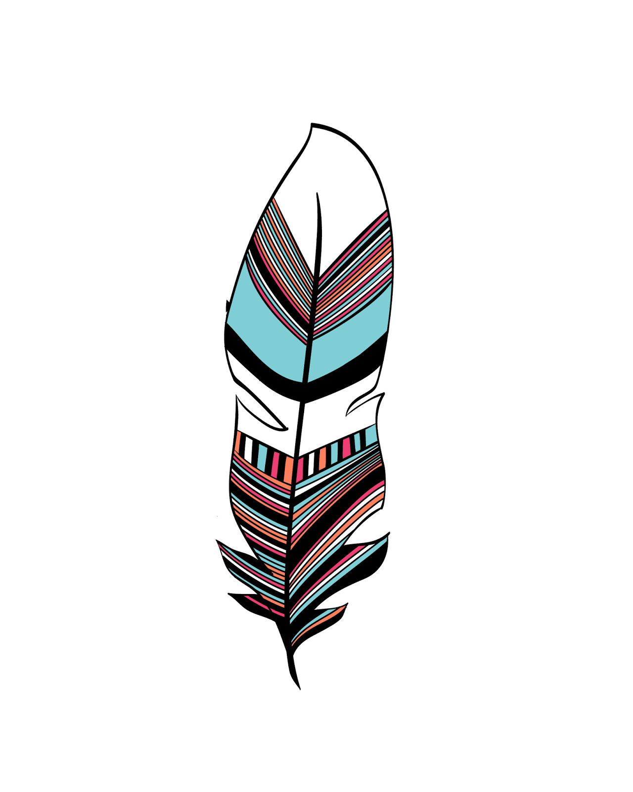 Freebies Abstract Feathers