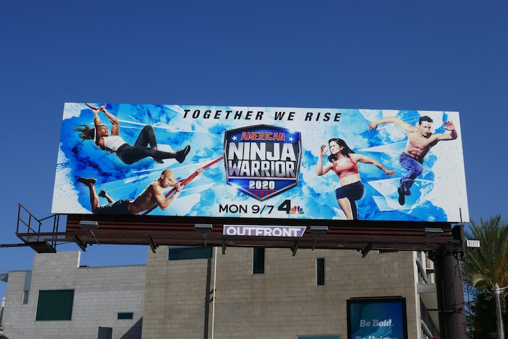 American Ninja Warrior season 12 billboard