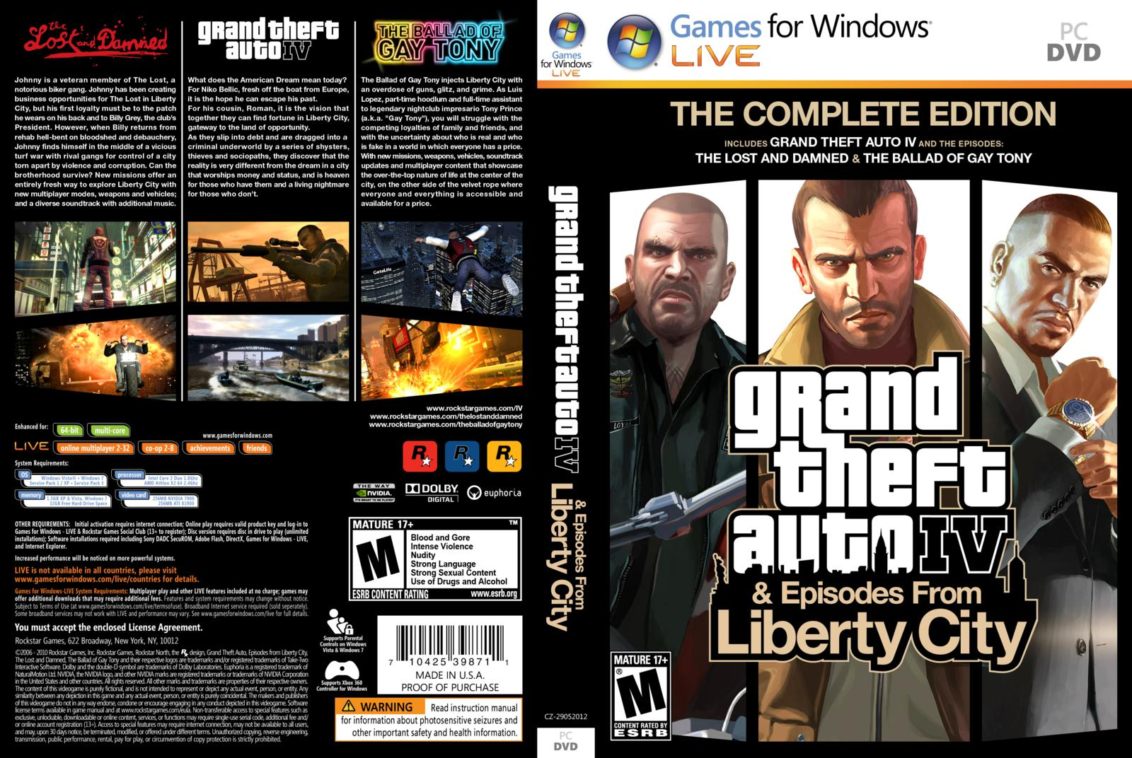 How to install grand theft auto iv complete edition youtube.