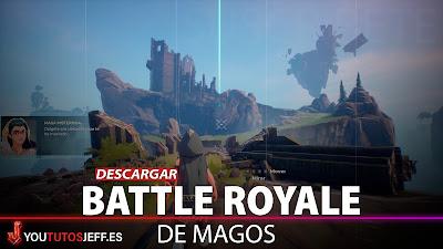 Descargar Spellbrak para PC GRATIS, Battle Royale de Magos