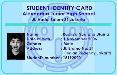 Soal Kelas 7 Introduction, Identity, Pronouns
