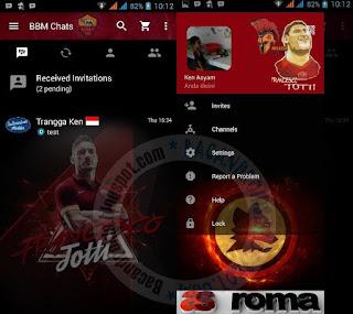 Kumpulan BBM Mod Thema Klub Sepak Bola
