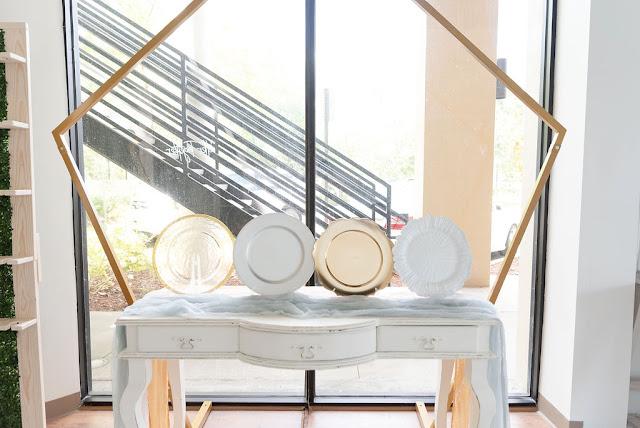At Last Wedding + Event Design rental items