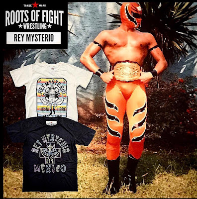 Roots of Wrestling Rey Mysterio T-Shirt Collection by Roots of Fight