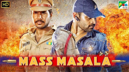 Mass Masala 2019 Hindi Dubbed 1GB HDRip 720p