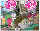 My Little Pony Micro Series #7 Comic Cover Double Variant