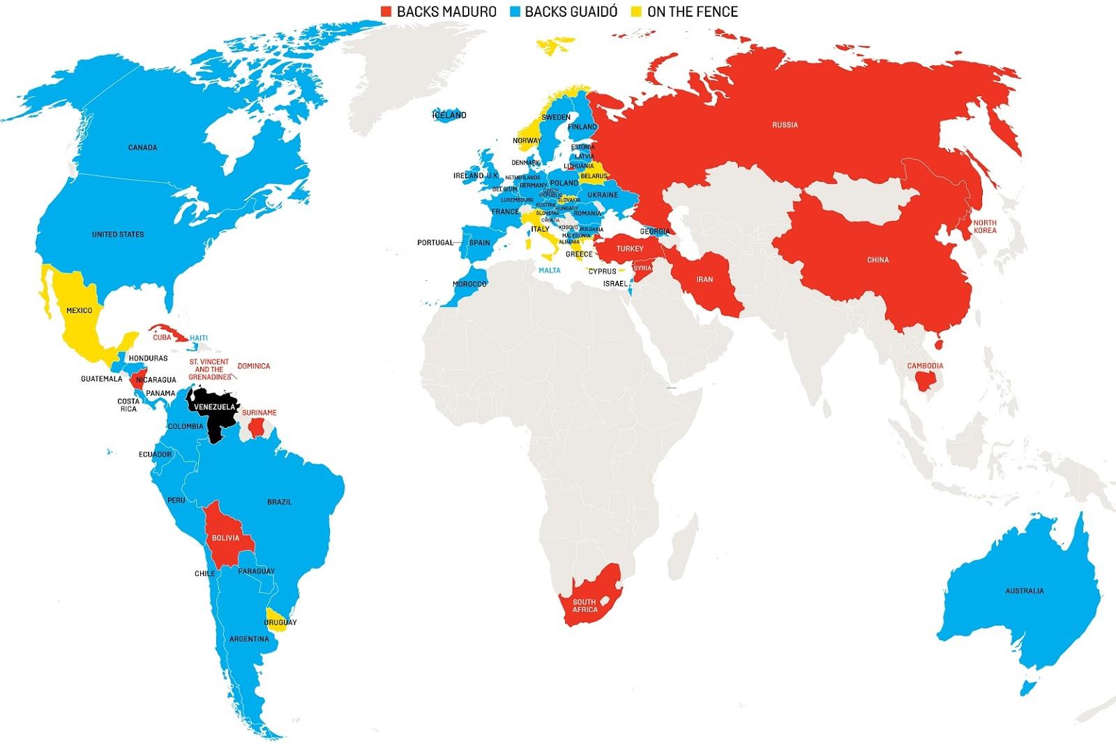venezuela carte du monde