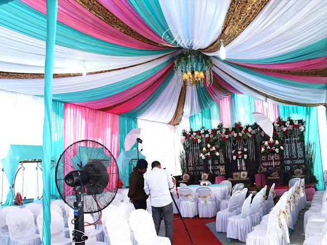 Dekorasi tenda pernikahan Vip sentris