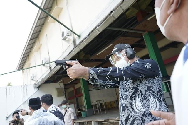 DPRD Jabar Tinjau Pelatda Atlet Menembak Jabar, Optimis Meraih Prestasi Terbaik PON XX Papua