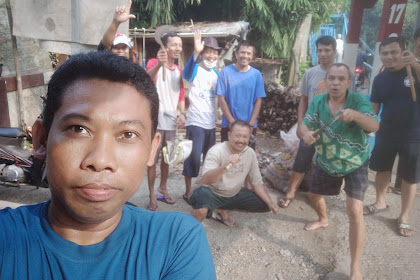 Bebersih Sungai Ciliwung di Kebon Duren Kalimulya Depok