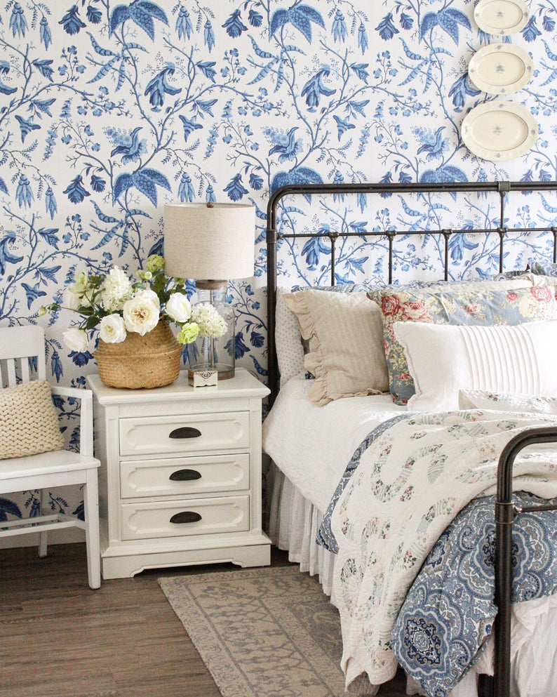 Wallpaper is an easy way to add pattern to your interior design