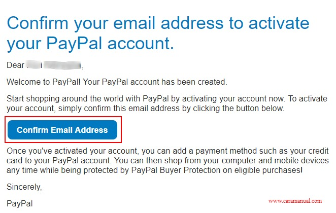 Cara Membuat PayPal Tanpa Kartu Kredit 5