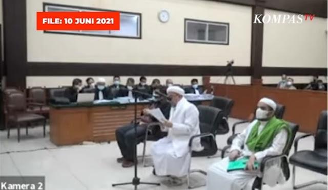MERINDING! Doa IB HR5 Yang Ditujukan Kepada Pelaku, Dalang, dan Semua Yang Terlibat Pembantaian 6 Laskar