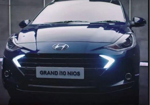 All new Hyundai Grand i10 Nios Front view