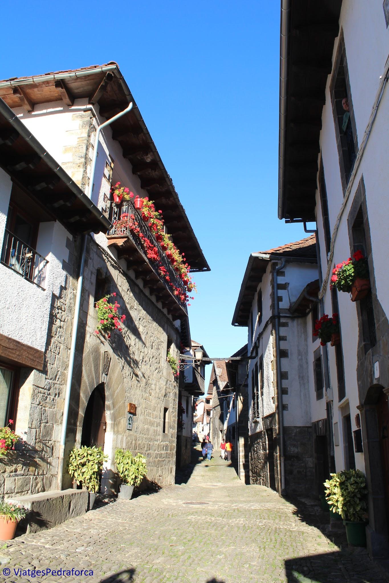 Ochagavía, Pirineu de Navarra, colors de tardor, senderisme