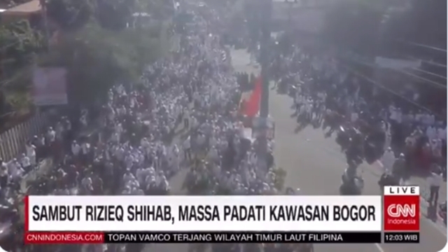 CNN Indonesia Selalu Tulis 'Rizieq' tanpa 'Habib', Fadli Zon: Jangan sampai Media ini Dinilai 'Habibfobia'