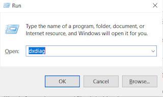 cara cek RAM di Laptop menggunakan dxdiag