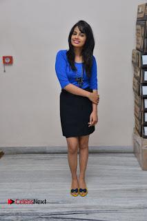 Actress Nandita Swetha Stills in Black Mini Skirt at Ekkadiki Potavu Chinnavada Movie Special Show  0066.JPG