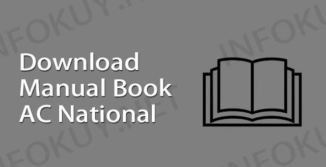 download manual book ac national