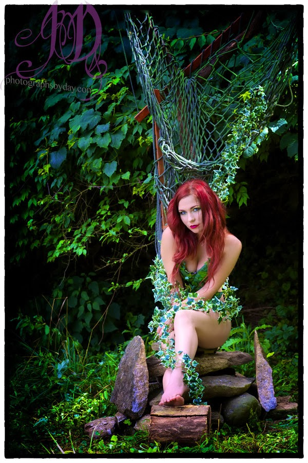 Poison Ivy on Her Throne