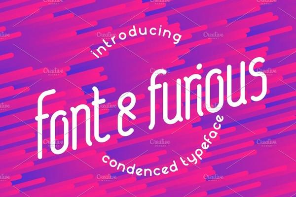 Font And Furious Font
