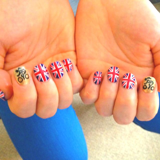 Nail Art London: London Olympics 2012 Nail Art Designs