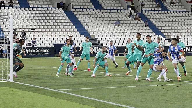 Video Leganes - Real Madrid: Dữ dội màn rượt đuổi, đoạn kết đau đớn