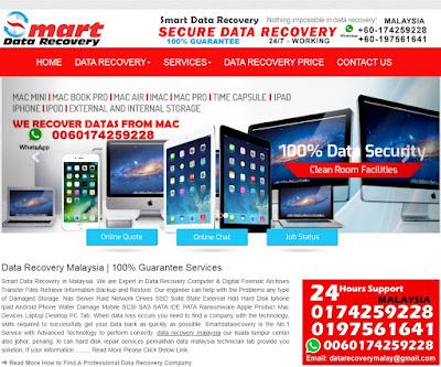 WD Data Recovery Malaysia