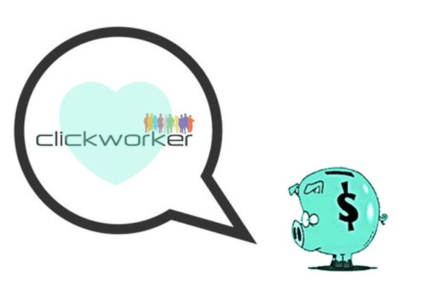 Clickworker - ganar dinero con mini trabajos